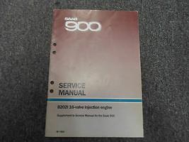 1986 Saab 900 B202i 16 Ventil Motor Ergänzung Service Reparatur Manuell - $49.49