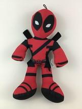 "Marvel Deadpool Red and Black 14"" Plush Stuffed Toy Good Stuff - $22.23"
