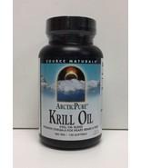 (New) Source Naturals ArcticPure Krill Oil 500 mg - 120 Softgels - $49.49