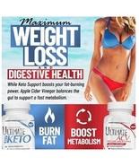 Keto Suport Plls+Apple Cider Vinegar-Fat Burning, Weight Mangmnt Bundle ... - $39.99