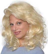 Fashion women medium wavy Tawny wig Auburn