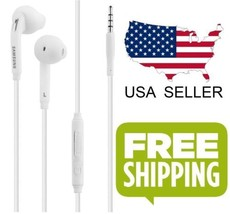 Samsung Wired Headset Earphones W/ Mic for Samsung Galaxy S6 / S7 Edge O... - ₨482.70 INR