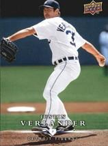 2008 Upper Deck First Edition #353 Justin Verlander - NM-MT - $0.98