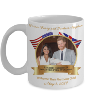 Baby Archie Prince Harry Duchess Meghan Royal Birth Commemorative Coffee... - $14.79+