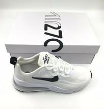 NIKE WOMENS Shoes Air Max 270 React Size US 10   White Black Metallic Si... - $115.31