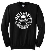 2nd Amendment Rebel Printed Sweatshirt Adult Sizes S - 4XL and Tall Size... - $19.79+