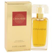 Cinnabar By Estee Lauder Eau De Parfum Spray (new Packaging) 1.7 Oz For ... - $83.89