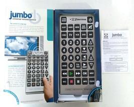 Emerson JUMBO Universal Remote Control TV DVD VCR Cable Satellite Combo ... - $12.95