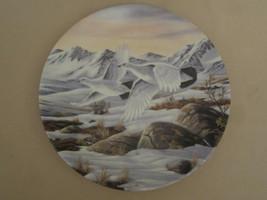 Daylight Flight Collector Plate Wilhelm Goebel Willow Ptarmigan Game Birds - $19.34