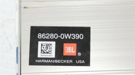 Toyota Camry Stereo Audio Radio JBL HARMAN/BECKER Amplifier 86280-0W390 image 2