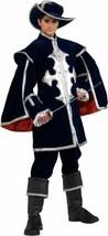 Musketeer Medieval Renaissance Fancy Dress Up Halloween Deluxe Adult Cos... - $169.99