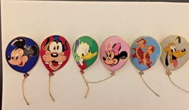 Disney 6 Pin Complete Set Cast Exclusive Balloons with Strings Released ... - $106.92