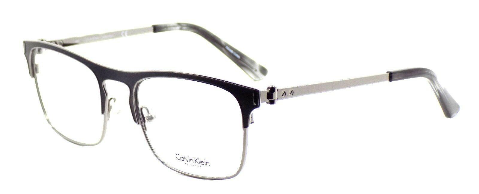 Calvin Klein CK8016 001 Men's Eyeglasses Frames Black 52-20-140 + CASE