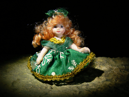 Personal Collection Estate Japanese Sorcerer Spirits Haunted Doll Izida No Djinn - $303.00
