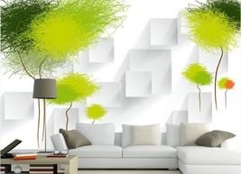 3D Grün-Weiß-Design 2666 Fototapeten Wandbild Fototapete BildTapete Familie DE - $52.21+