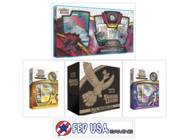 Pokemon Shining Legends Elite Trainer Box + Zoroark Mewtwo & Pikachu Col... - $134.99
