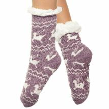 Angelina Women's 3 Pack Christmas Sherpa Lined Thermal Socks with Gift Tags image 14