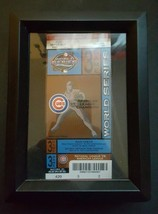 2003 Phantom Chicago Cubs World Series Game 3 ticket framed unused MLB Ticket - $25.21