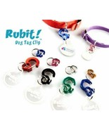 Rubit Curve Dog Tag Clip | Pet Tag Clip | Cat Tag Clip | Collar Clip - $8.99