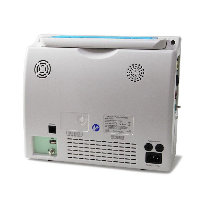 ICU Patient Monitor Vital Signs ECG Cardiac Monitor Printer/Capnograph/Stand/Bag