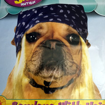 Bandana With Hair Rubies Pet Shop Boutique Small Medium Blue Blond Dog H... - $7.42
