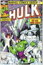 The Incredible Hulk Comic Book #249 Marvel Comics 1980 FINE - $3.25