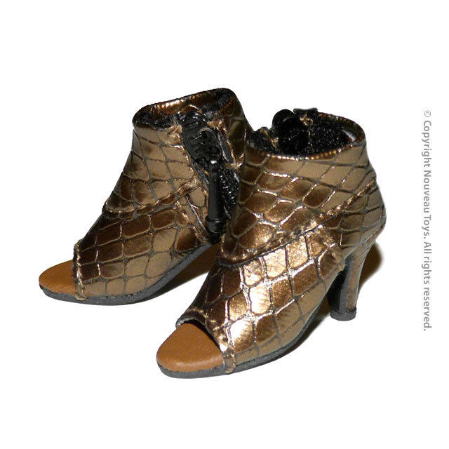 Primary image for 1/6 Scale Phicen, TBLeague, Hot Toys, NT - Female Faux Alligator Boots Shoes