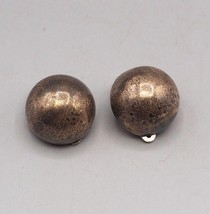 Vintage Sterling Silver Clip On Earrings - $52.46