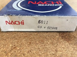6011 OPEN C3 NACHI BALL BEARING 90x55x18MM - JAPAN - $28.50