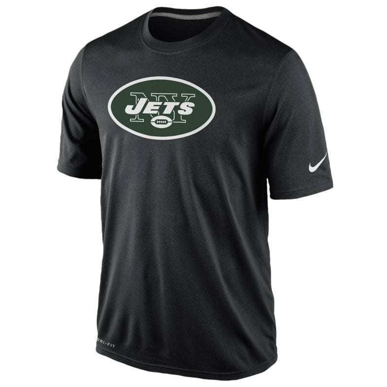 New York Jets Nike Essential Logo DRI-FIT Mens T-Shirt - XXL/XL/L GREEN or BLACK