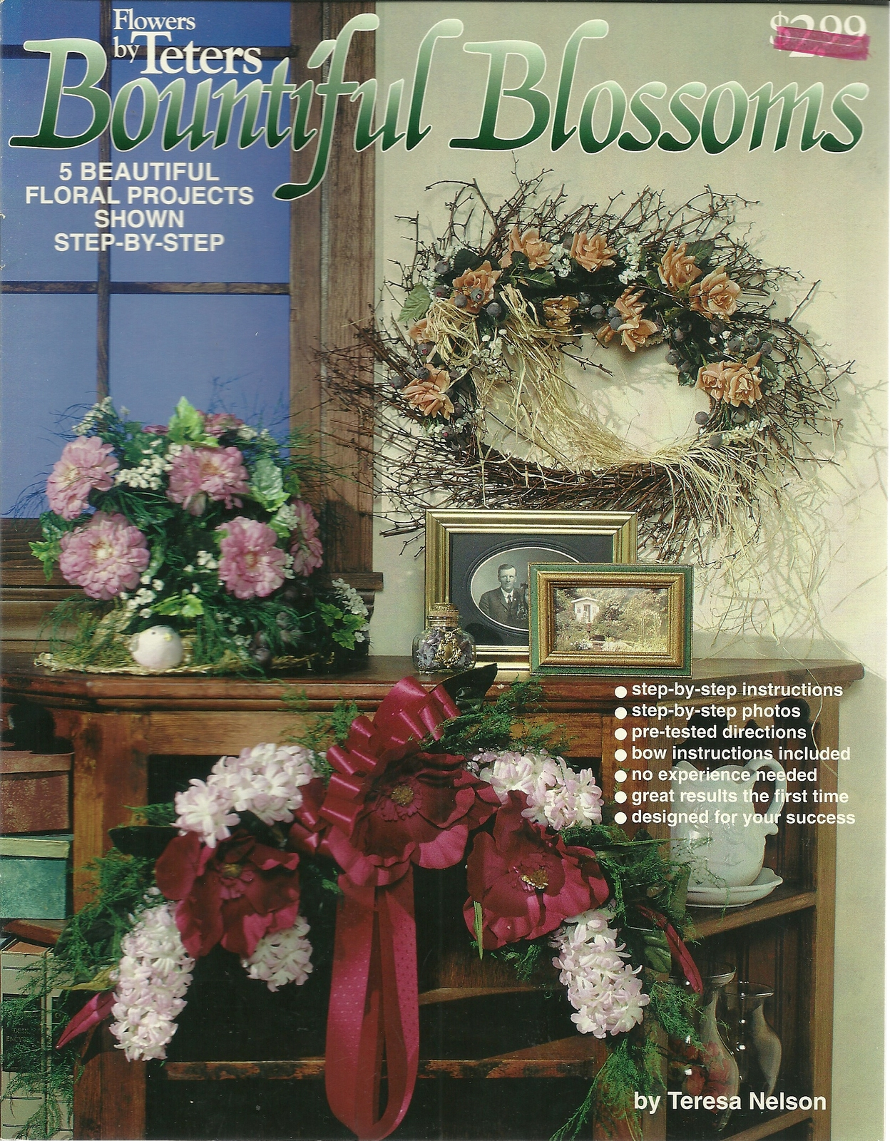 Bountiful blossoms flowers by teters floral craft book pop 802  1