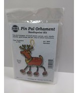 Reindeer Pin Pal Ornament needlepoint kit 5604 Holiday - $11.75