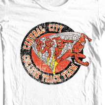 The Flash Central City College Track Team T-shirt super hero DC comics DCO524 image 1