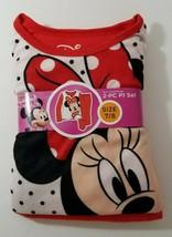 Disney Minnie Mouse Girl's Flannel Sleepware Set 7/8 - $11.88