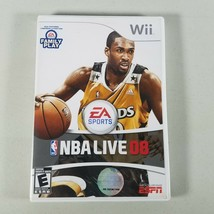 NBA Live 08 Wii Video Game 2008 Rated E Everyone With Manual - $6.99