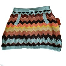 NWT MISSONI for Target chevron girls skirt zig zag pattern, Size XL - $14.96