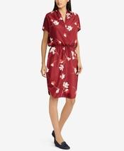 New $175 Lauren Ralph Lauren Petite Floral-Print Dolman-Sleeve Dress Siz... - $86.98