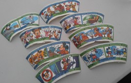 Vintage Disney Mickey Mouse Donald Duck Pluto Goofy Paper Cups Lot - $10.26