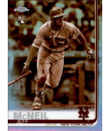Jeff McNeil 2019 Topps Chrome Sepia Parallel Rookie Card #152 - $8.00