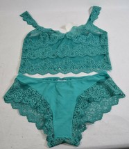 Only Hearts Crop Cami Lace & Fine Hipster Jasper Set S Womens NWT - $49.50