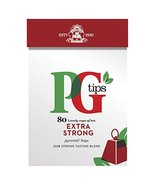 PG Tips Strong 80 Teabags (Pack of 3, Total 240 Teabags) - $35.43