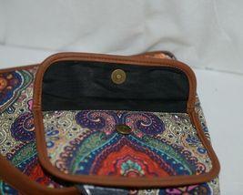 Howards Product Number 68985 Large Shoulder Bag Multi Color Paisley Print image 4