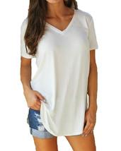 "4XL 5XL Plus Size Women""s Clothing Fashion Big Size T-shirt Female Solid... - $17.50"