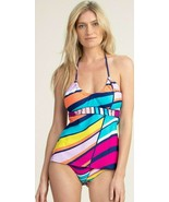 Trina Turk Catch A Wave Tankini Top & Hipster Bottom Swimsuit Set $170 - $125.00