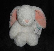 Carter's White Pink Baby Bunny Rabbit Wind Up Musical Stuffed Animal Plush Toy - $22.21
