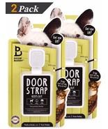Door Buddy® Adjustable Door Strap & Latch (Grey 2 Pack + 2 Bonus Adhesives) - $29.97