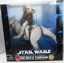 Star Wars Collector Series Han Solo & Tauntaun Pose Able Figures 1997 - $79.20