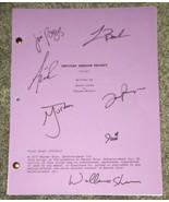 Young Sheldon 7x Cast Hand Signed Script COA Zoe Perry Annie Potts Jim P... - $499.99