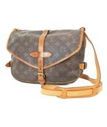 Authentic LOUIS VUITTON Saumur 30 Monogram Crossbody Shoulder Bag Purse ... - $467.10