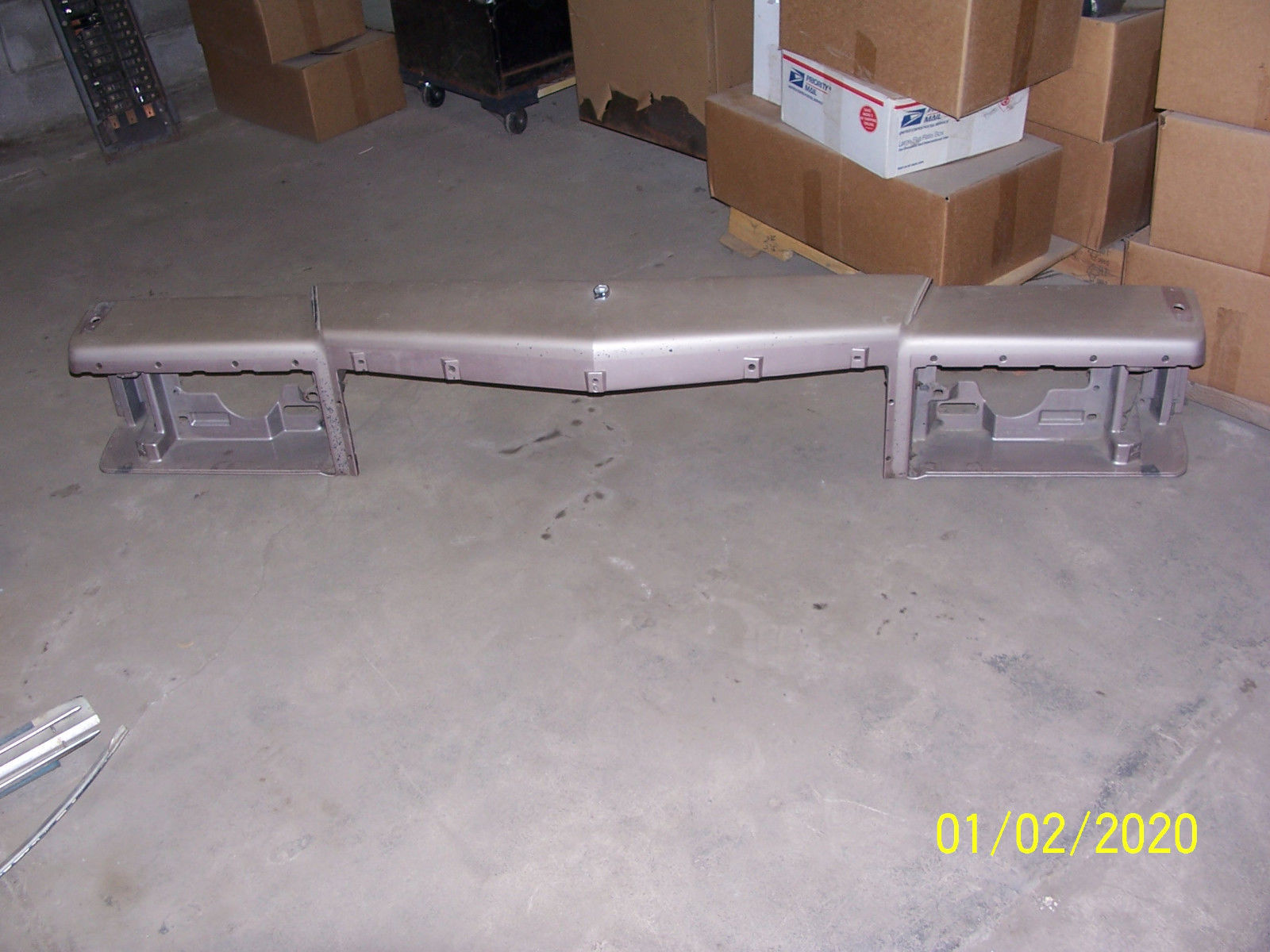 Primary image for 1991 BROUGHAM HEADER PANEL GRILL HEADLIGHT SUPPORT OEM USED CADILLAC FLEETWOOD